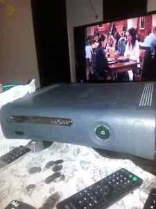 Xbox 360 with hookups and kinect