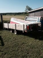 "6'2""x12ft tandem utility trailer"