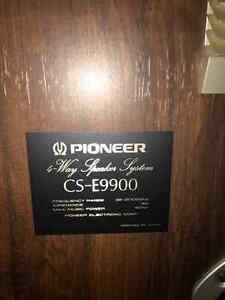 Pioneer CS-E9900 Four-way speaker system Cambridge Kitchener Area image 3