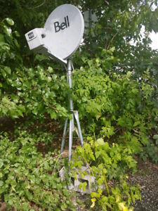 Antenne Bell tv Satellite coupole
