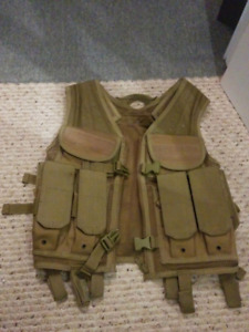Veste airsoft/paintball tan