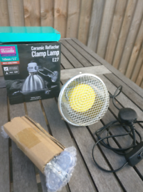 Arcadia Ceramic Reflector Clamp Lamp (150w max.)
