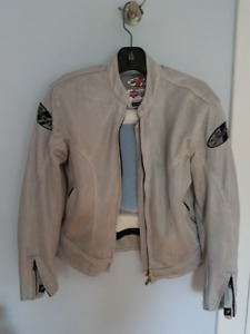 Ladies Joe Rocket Mesh Motorcycle jacket Size L