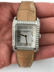 HOLIDAY GIFT!! B & M Hampton 1.6 carat diamonds ladies watch