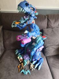 Imaginext Ultra ice T-Rex dinosaur walking sounds