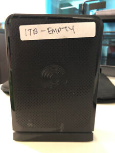 Seagate 1 TB External Hard Drive (used but works perfectly)