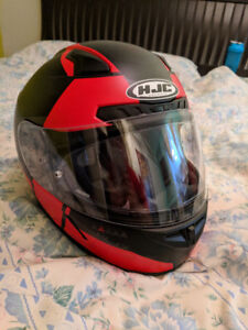HJC CL-17 boost graphic helmet (red, XL)