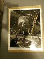 Autographed Picture of Oscar Peterson & Lee Greenwood