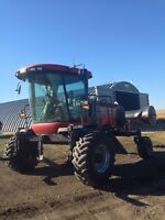 2008 case WD1203 swather