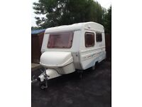 Freedom club class caravan 4 berth 2004 model