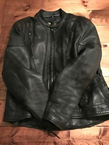 Men's LX Leather Motorcycle Jacket