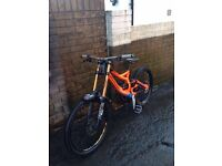 Pro downhill specialised demo 8 limited edition bikr troylee
