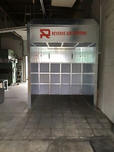 Open Face Ductless Spraybooth.