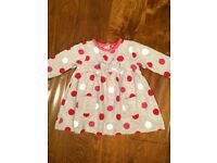 Baby girl dresses 0-3 months