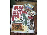Meccano items and books 1960's/1970's