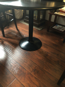 Authentic Bar Chairs and Table