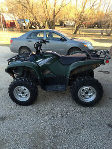 2014 Yamaha Grizzly700 FI EPS For Sale. Low kms.