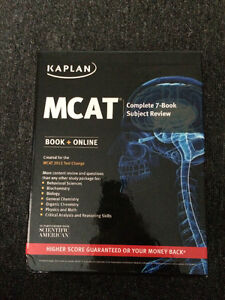 MCAT Kaplan Complete 7-Book Subject Review