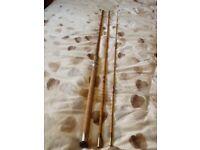 Vintage cane allcocks float fishing rod