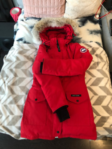 Red Women's Canada Goose Parka