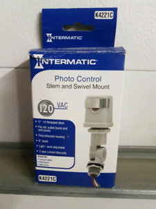 Photocell control for outside lights