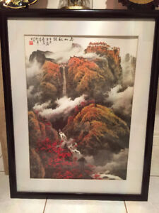 Nice Print of A Traditional Famous Chinese Painting $Reduced