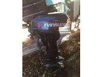 Evinrude 9.9hp boat engine for sale