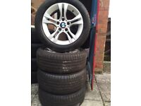 Bmw R16 alloys with tires