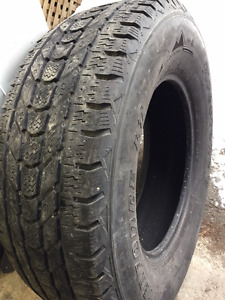 1x LT 275/70R18 10ply Firestone Winterforce