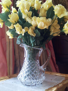 24% Lead Crystal Vases Handcut– Made in Italy