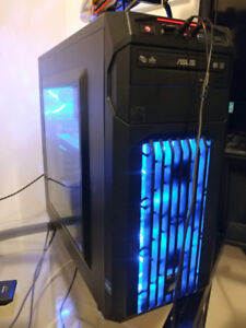 PC GAMER, 4-CORE i5-4690K, 8GB, SSD 240GB, GTX 1060 3GB, WIN 10