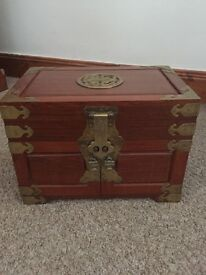 Handcrafted Oriental Jewellery Chest