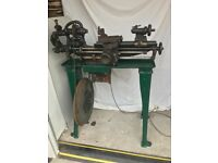 Rare Drummond Admiralty Model Type BS Lathe Looking for a good home.
