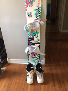 Board, bindings and boots