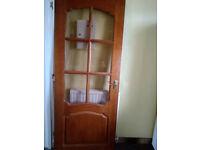 4 Interior panel glazed doors