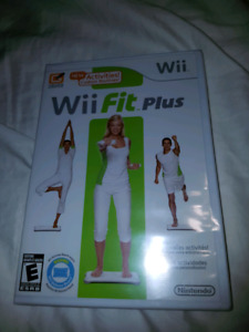 NEW SEALED Wii FIT PLUS GAME