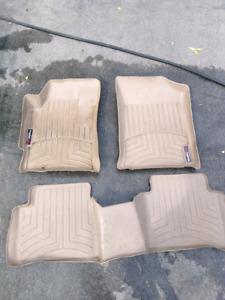 Weathertech floor mats Nissan Altima