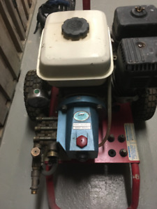Honda  5.5  Engine Power Washer CUT PUMP,  2000 PSI
