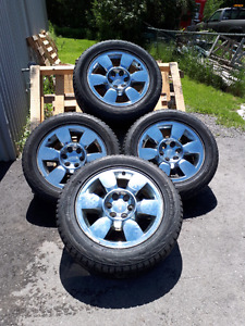 Factory gmc rims with winter tires