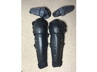 Launch knee/shin guards & extreme elbow guards for off-road biking & motorcycling