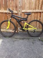 "26"" Mountain Bike with Suspension"