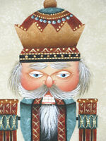 Christmas NUTCRACKER PRINCE Banner / Wall Hanging -Hand Painted