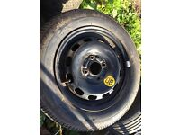 175 65 14 bridge stone tyre brand new on a fiesta rim