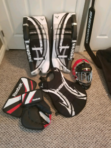 Kids' Ball Hockey Goalie Gear