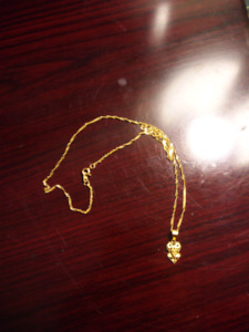 Gold Necklace from Saudi Arabia