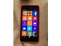 Microsoft lumia 640 with charger