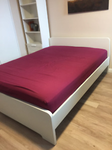 Queen Ikea Bed Frame in Excellent Condition
