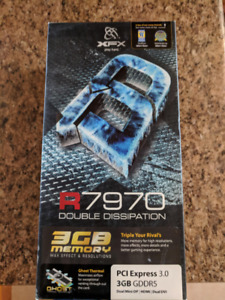 Radeon XFX R7970 Video Card, Used, Like new
