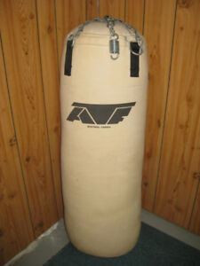 ATF heavy bag with gloves