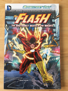 The Flash: Vol.1 The Dastardly Death of the Rogues comic book